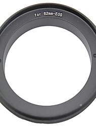 62mm Reverse Ring Adapter for Canon EOS Camera
