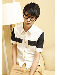 Men's fashion Short Sleeve Shirt (More Colors)