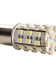 1156 3528 SMD 39 led 1.44w lampadina 156lm bianca per auto (12V dc)-coppia