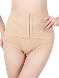 algodão cuecas de cintura alta shaper com jacquard