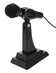 bureau microphone réglable multimédia (argent)