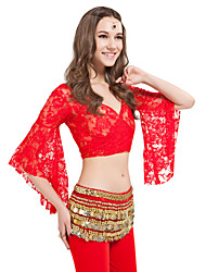 Women Dance Wear Lace Belly Dance Top More Colors