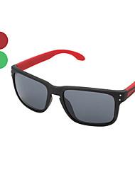 Occhiali da sole UV400, alla moda, con custodia
