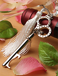 Chrome Bottle Favor Bottle Openers Garden Theme Non-personalised Silver