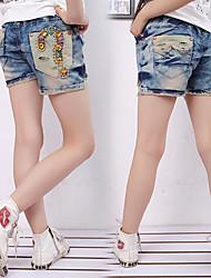 shorts jeans velha falsa de