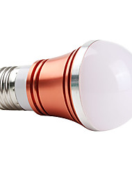 E26/E27 W 3 High Power LED 270 LM Red A Globe Bulbs AC 85-265 V