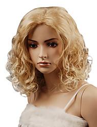 Capless High Quality Synthetic Medium Length Lovely Wavy Wig