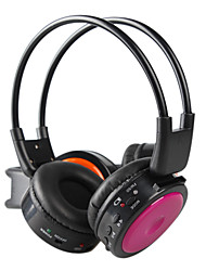 Headphones for ipod ipad wireless mp3 headphones Pink