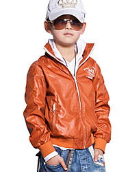 Boys Stand Collar Jacket