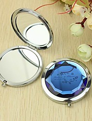 Personalized Make Up Compact - Garden Theme (More Colors)