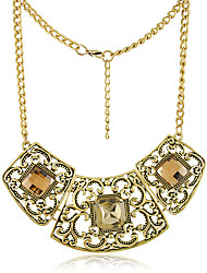 Women's Alloy Necklace Anniversary/Gift/Party Rhinestone