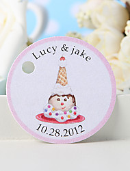 Personalized Favor Tag - Icecream (Set of 36)