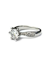 Ladies 'Fashion Dress platiniert Ring