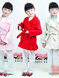 Girls Cotton Lace Coat Jacket