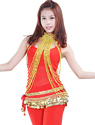Dance Accessories Jewelry Women's Performance Polystyrene Gold / Silver Belly Dance Spring, Fall, Winter, Summer