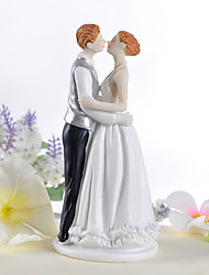 Cake Toppers Kissing Couple Figurine  Cake Topper