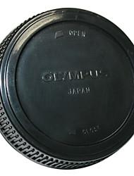 capa de proteção traseira da lente para olympus panasonic micro 4/3 e-PL2 e-p2 GF2 GF1
