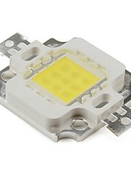 DIY 10W 800LM 900mA Natural White Light LED Emitter (9-12V)