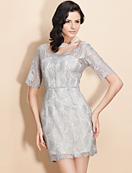 TS Simplicity Mid Sleeve Lace Dress
