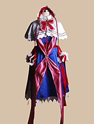 Inspired by TouHou Project Suika Ibuki Video Game Cosplay Costumes Cosplay Suits Patchwork Blue Top