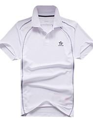 clássicos dos homens magros lapela mangas curtas t-shirt