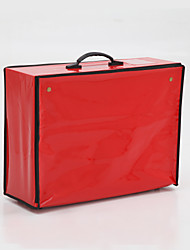 Elegant Faux Leather Garment Bag (More Colors)