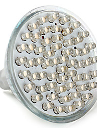 3W GU5.3(MR16) Spot LED MR16 60 Dip LED 200 lm Blanc Chaud V