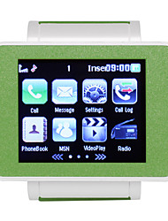 i1 - 1.8 Inch Resistive Touchscreen Watch Cellphone (FM MP3 / MP4 Bluetooth)