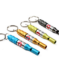Emergency Whistle Key Chain (Ramdon Color)