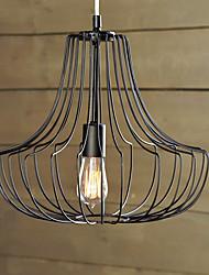 60w pendentif artistique de fer coop conception lumière