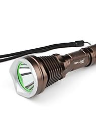 Small Sun ZY-T66 5-Mode Cree XM-L T6 LED Flashlight (900LM, 1x18650, Brown)