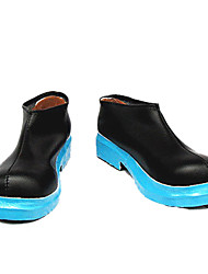 Miku Black Blue Sole Low-cut Cosplay Shoes