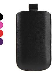 simples sachets de style cuir PU pour Samsung Galaxy i9100 s2 (couleurs assorties)