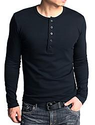 GentleMens Fashion Long Sleeve Tight Shirt