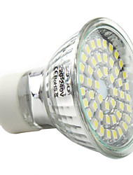 3w gu10 led spot mr16 48 smd 3528 250-300 lm blanc naturel 220-240 v