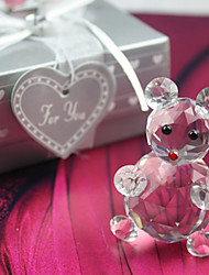 Gifts Bridesmaid Gift Lovely Crystal Bear Favor