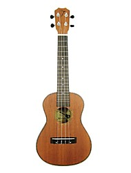 Tom - (TOM231) Mahogany Concert Ukulele with Gig Bag/Picks