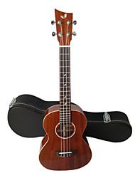 shaka - (Latn-1) sólido mogno tenor ukulele Havaí com caso show