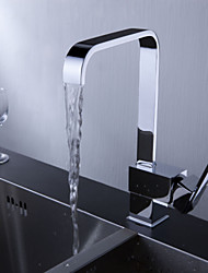 Sprinkle® by Lightinthebox - Contemporary Brass Kitchen Faucet (Chrome Finish)