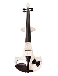 Cozart - (ML024-C1) 4/4 Czechic cristal incrustada violino elétrico com Case / Bow / Rosin / Cabo / Bateria / Extra Cristal / Glue