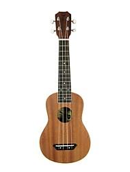 Tom - (tom212) ukulele soprano mogno com bag / picaretas