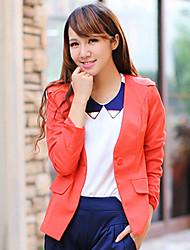 Ladies' PU-skin Jacket Suit