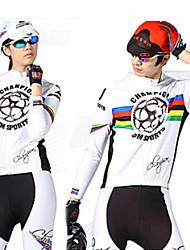 mountainpeak-vélo costume avec 3d pad (blanc)