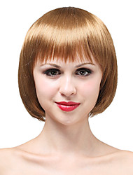 Capless Short Bob High Quality Synthetic Blonde Hair Wig