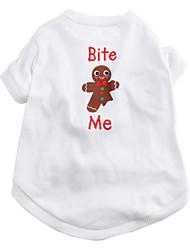 beiß mich cotton Komfort-T-Shirt für Hunde (xs, m, l)