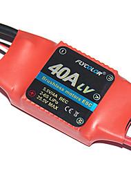 flycolor 40a 6s esc für Flugzeug mit Brushless-Motor (zufällige Farben)