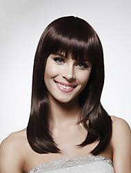 capless 100% cheveux humains épaule-longueur perruque Bob cheveux style 5 couleurs au choix