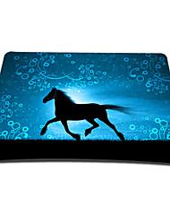 executar para o futuro mouse pad jogos óptico (9 x 7 polegadas)