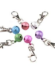 pendant tocando cão sino colar colar (cores aleatórias)