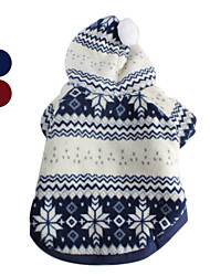 PethingTM Christmas Eve Comfort Warm Hoodie Coat for Dogs (XS-XL, Assorted Colors)